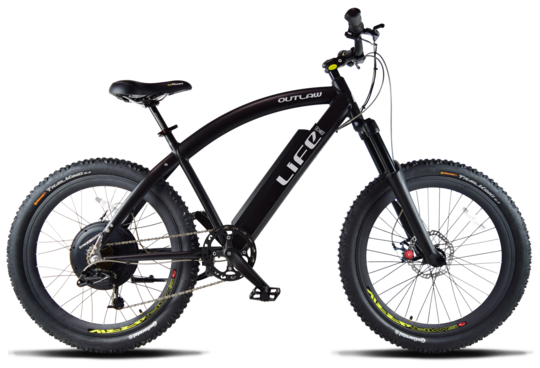 Life EV Life Electric Bicycles Outlaw R 400