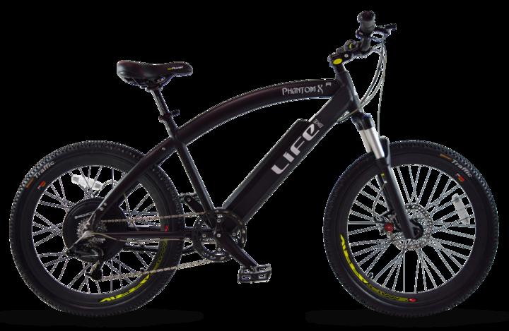 Life EV Life Electric Bicycles Phantom XR Crusier